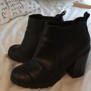 Black Ankle Boots winter